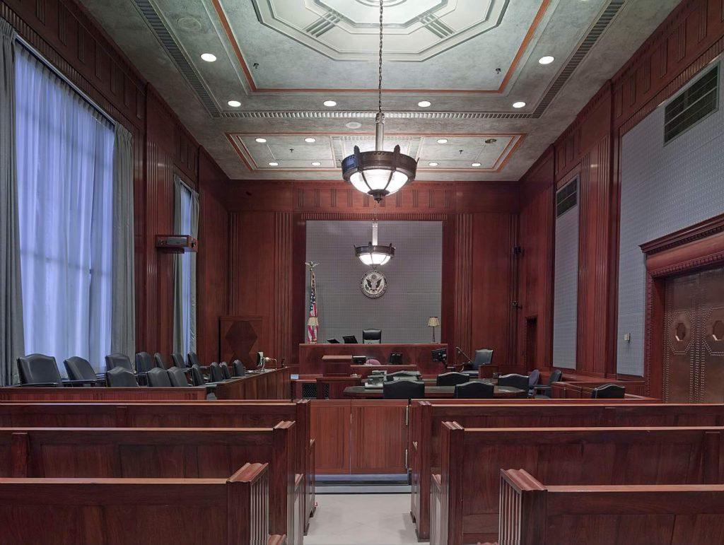 rechtszaal